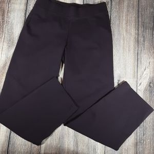 Eileen Fisher Pants - Eileen Fisher plum pull on lounge pants large